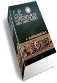 Biblia Latinoamericana de pasta dura y letra grande