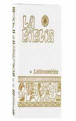 Biblia Latinoamericana Chica con separadores Blanca