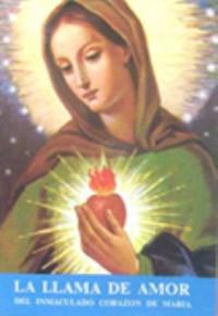 Llama de amor del corazon inmaculado de Maria