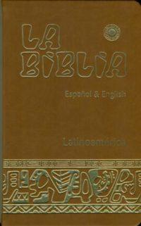 Biblia Latinoamericana grande espanol & english pasta suave