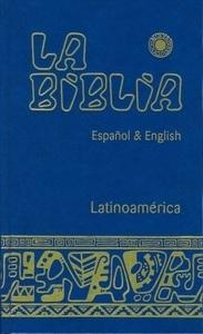 Biblia Latinoamericana grande espanol & english pasta dura